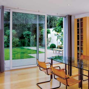Sliding Glass door from inside - Advanced uPVC
